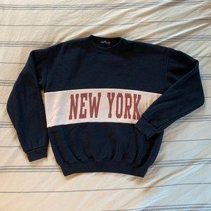 Brandy Melville Erica New York Crewneck Sweatshirt